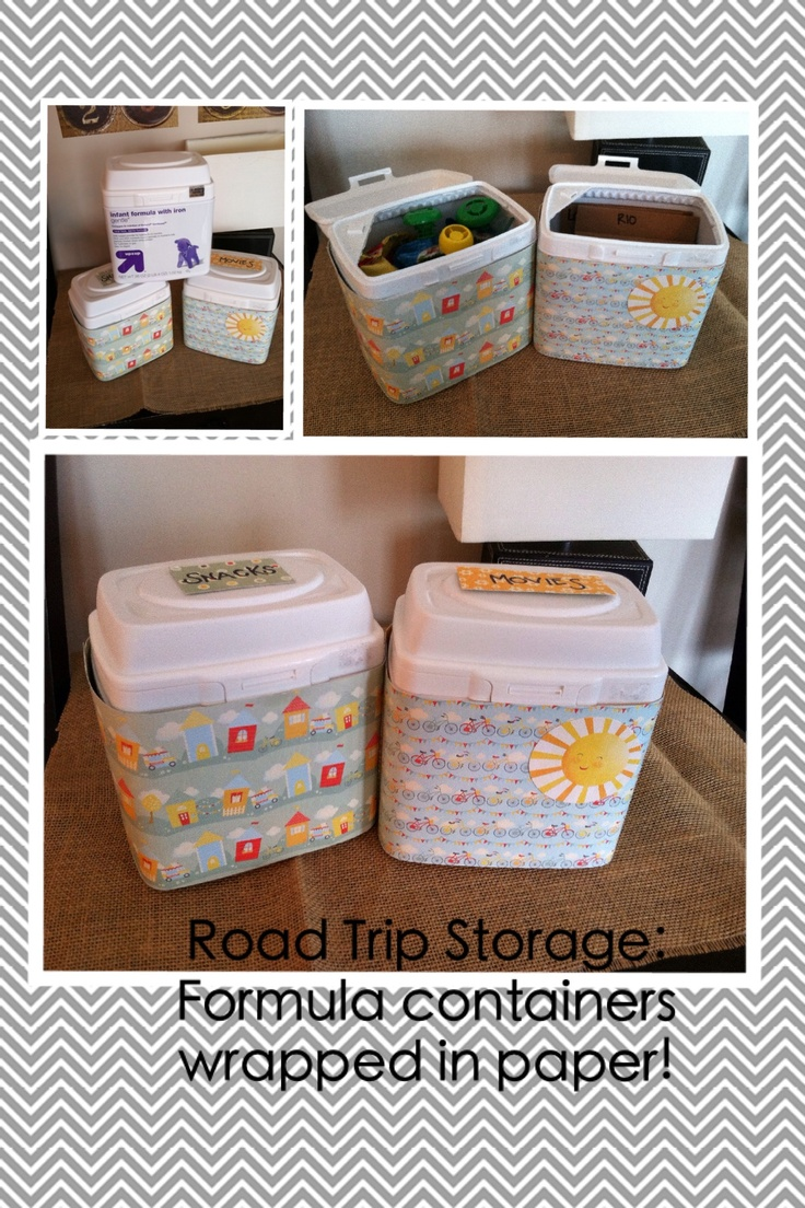 25 Unique Baby Formula Containers Ideas On Pinterest Reuse Can Crafts And Cans