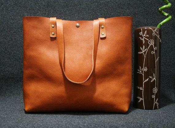 leather tote bag ,handmade leather bag ,tote bag ,large leather bag,brown leather bag,borsa di cuoio,