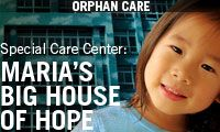 Show HOPE... an amazing organization caring for special needs orphans in China and around the world.