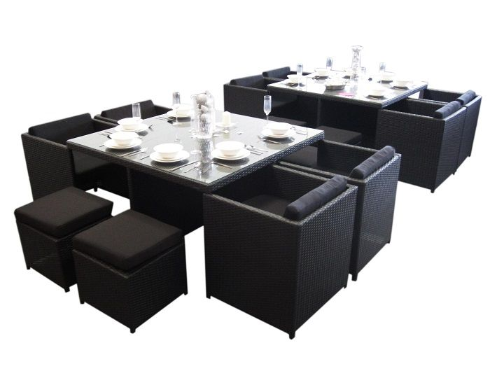 Brazilia 8 Seat Dining Set