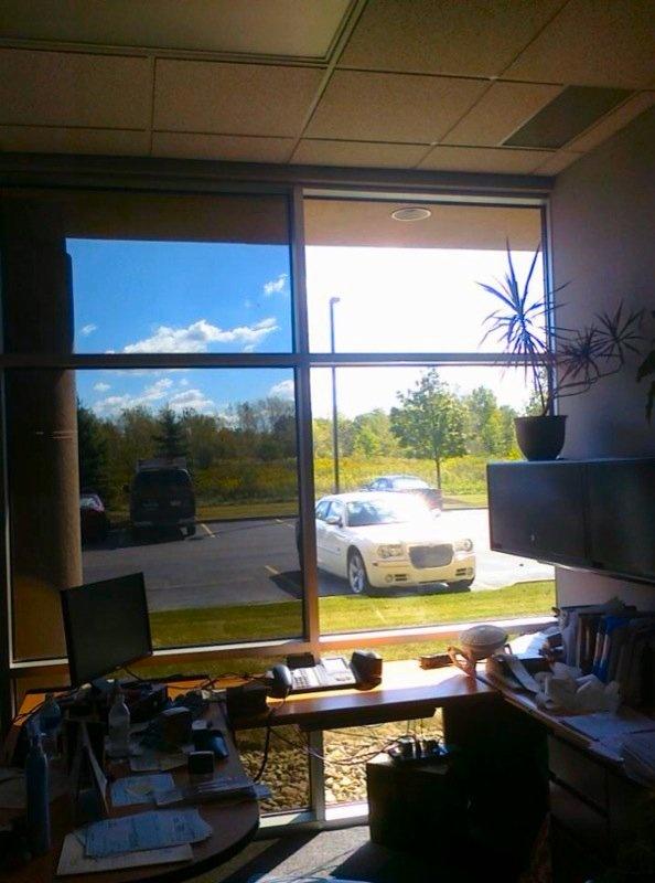 Commercial Window Tinting - Kuehne & Nagle - 3M NV15 Window Film