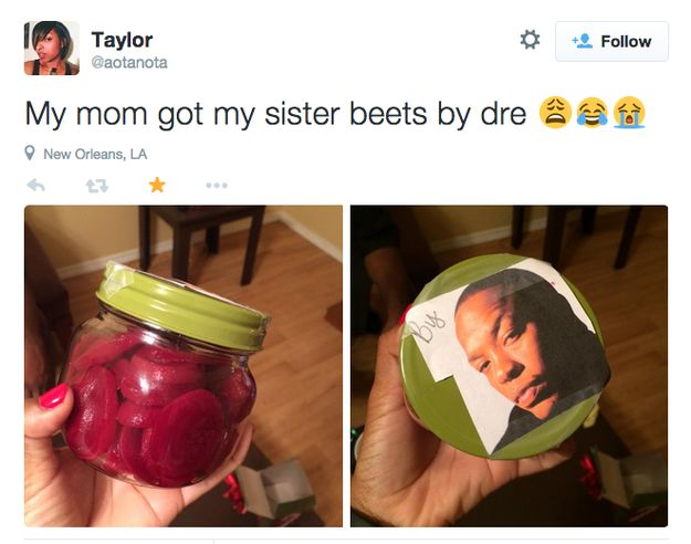 19 People Who Got Worse Christmas Presents Than You  The girl who got Beets by Dre, haha. More following the link!: