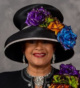 First Lady Church Hat by Eve Andrea