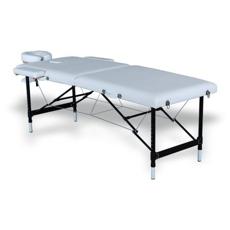 #Salonbed #Massagetable #Tattoo Table #HBA #Salon #Equipment #NewZealand    Elizabeth Massage Table (BE10)  $420.00 (GST Excl.)   4 available   •170(180)D×63W×76Hcm  •Aluminum structure with easy lock mechanism;  •Removable face pillow;  •Adjustable headrest;  •Carry bag comes with the bed.
