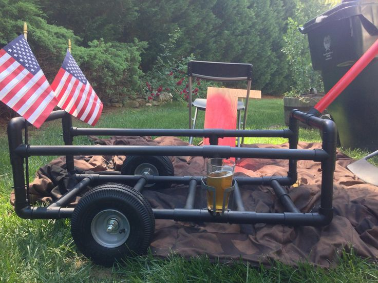 510 best pvc pipe creations images on pinterest pipes for Best fishing cart