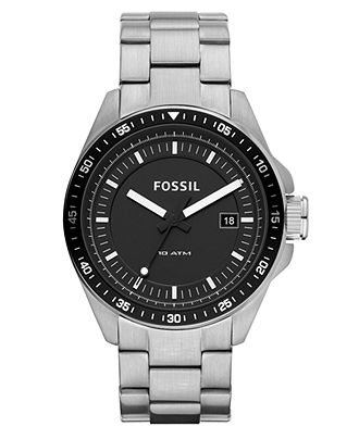 25 best ideas about fossil watches mens fossil fossil watch mens decker stainless steel bracelet mens watches jewelry watches macys