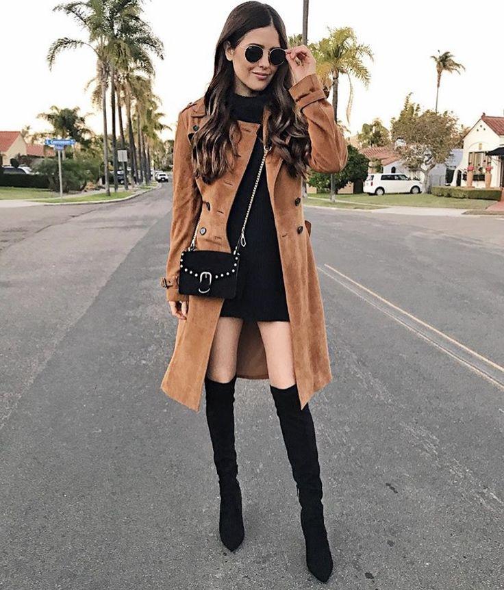 İster jean, ister elbise... Ne giyerseniz giyin diz üstü çizmeler ile stilinizi bir üst seviyeye taşıyın. https://brand-store.com/main/editor/trend-diz-ustu-cizme/1079  Photo: blanitinerary on ig