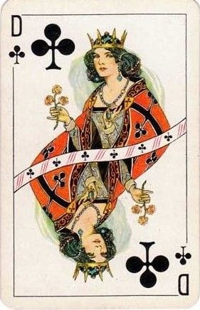 Non-standard playing cards by De la Rue & Co. (London), c.1930s.