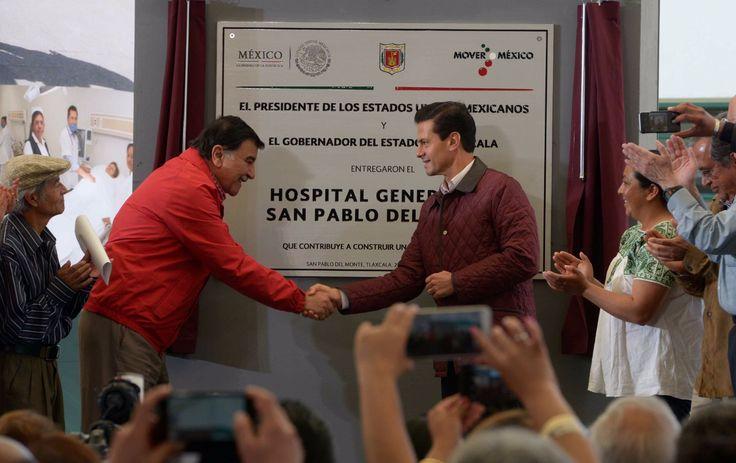 Inauguran Hospital General de San Pablo del Monte - http://plenilunia.com/noticias-2/inauguran-hospital-general-de-san-pablo-del-monte/43232/