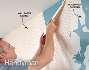 Wallpaper removal is a drag. Make sure you read this step-by-step before you start and set aside a whole weekend to get the job done right!