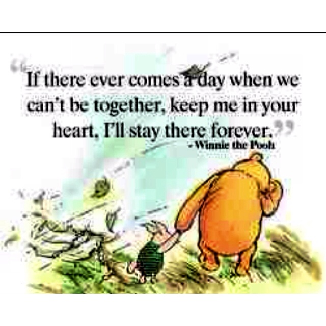 Pooh Quotes About Friendship: Winnie The Pooh And Piglet. Friendship.
