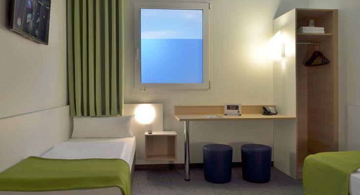 Barrierefreies Zimmer im B&B Hotel Köln-Frechen