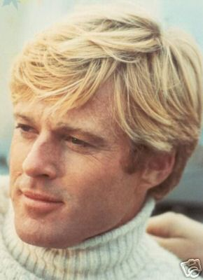Robert Redford! People like to compare Brad Pitt to Redford, but Redford is much better looking and so much classier.  Does this mean I am old? or right about this?