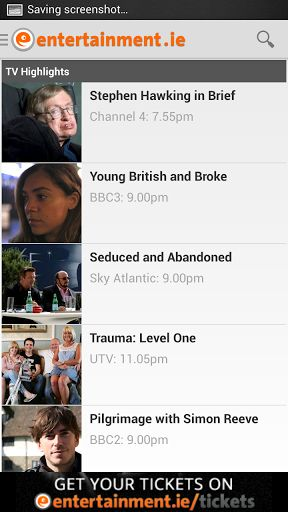 TV Guide Ireland - Ireland's most popular TV app is now available on Android.<p>The ultimate and essential FREE TV companion.<p>7 Day TV listings guide with full programme details and descriptions<p>Over 95 of the most popular TV channels including RTÉ, T