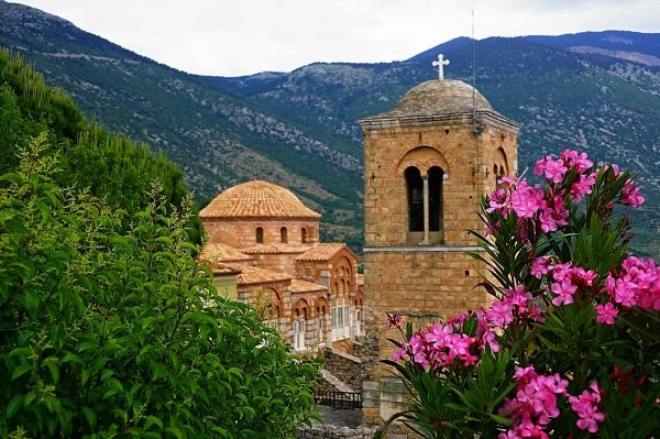 Monastery of Osios Loukas, one of the oldest monasteries in Greece