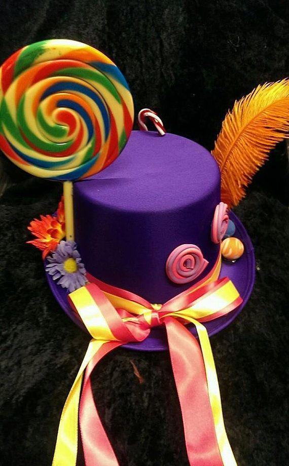 Purple Mini Birthday Hat