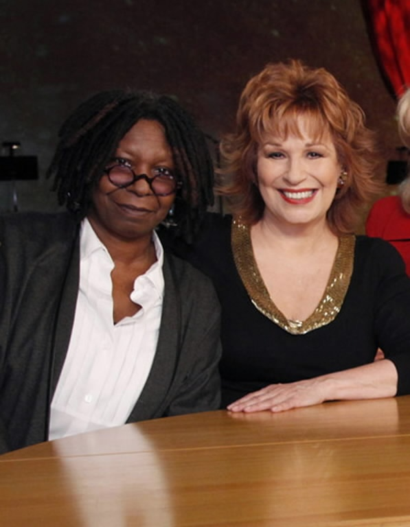 Whoopi Goldberg w./ NON-Whoopi Goldberg (The View)