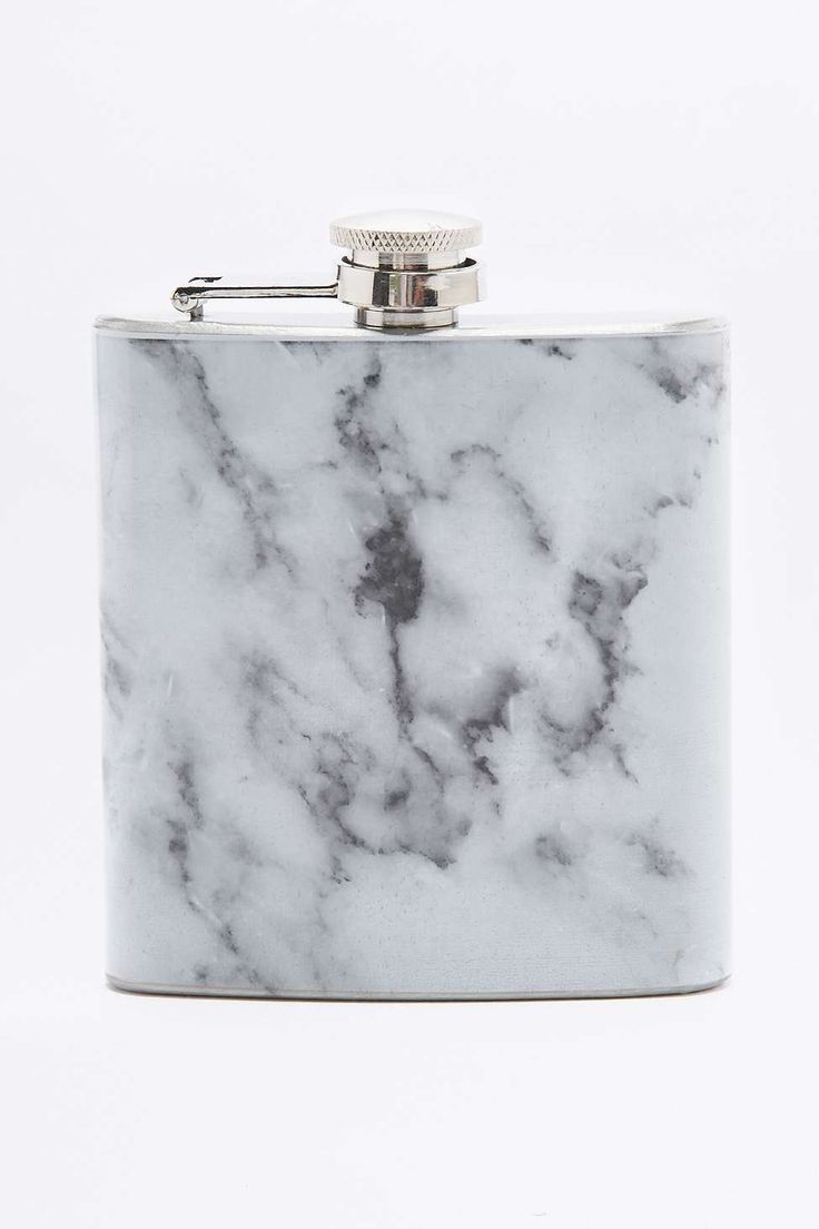 Marble Hip Flask