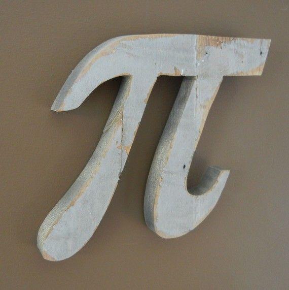 Pi, Math theme, home decor
