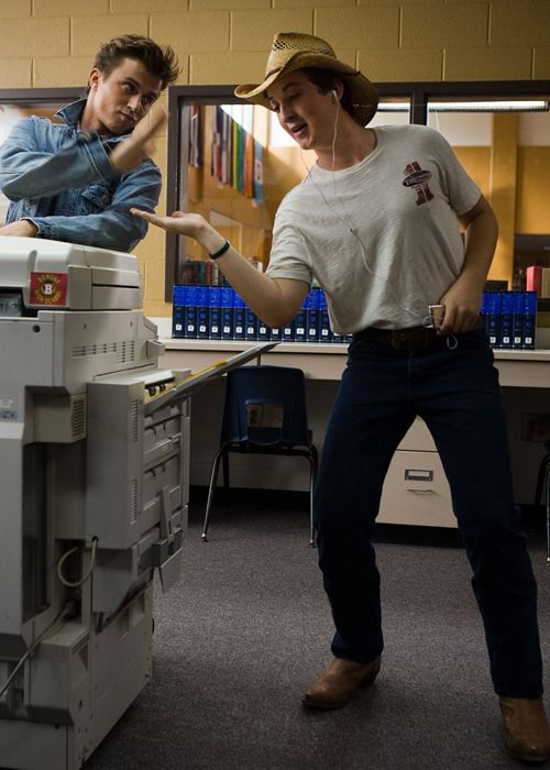 I love this part of the movie when he learns to dance! Miles Teller reminds me if my Andy :)