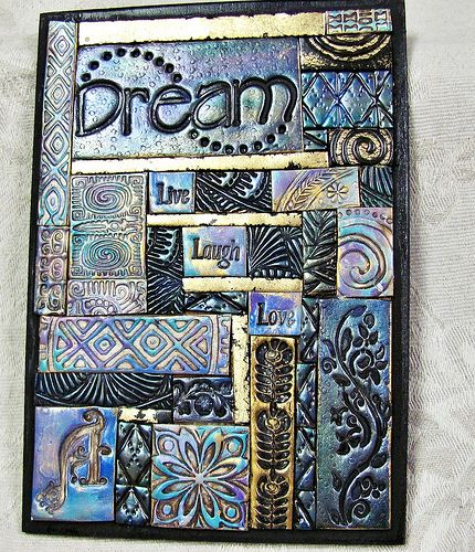 """I considered making something similar with the word """"Believe"""". I love inspirational artwork!"""