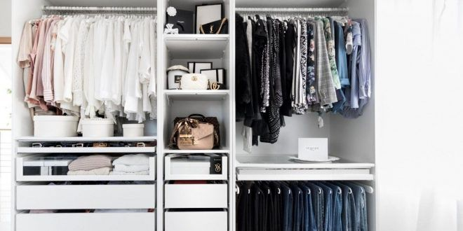 Closet Tour How To Build Your Own Walk In Closet In 2020 Ikea Pax Dressing Room Closet Build Your Own Wardrobe