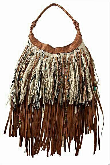 Hippie/Boho.Fringe Purse Bag - #bornbohemian