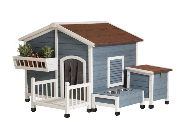 This cute Garden Cottage from Advantek will make you jealous of your pet. 10 Cool Dog Houses that Will Make You Jealous of your Pet