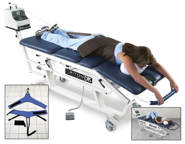 spinal traction machine