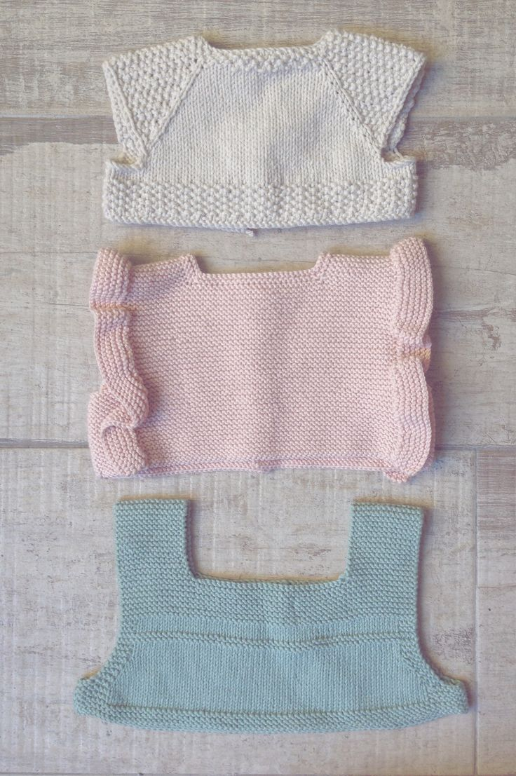 Baby upper side of dresses designed and knitted by I Love Tricoté    Cuerpos para vestiditos diseñados y tejidos por I Love Tricoté  #ilovetricote #babyknits