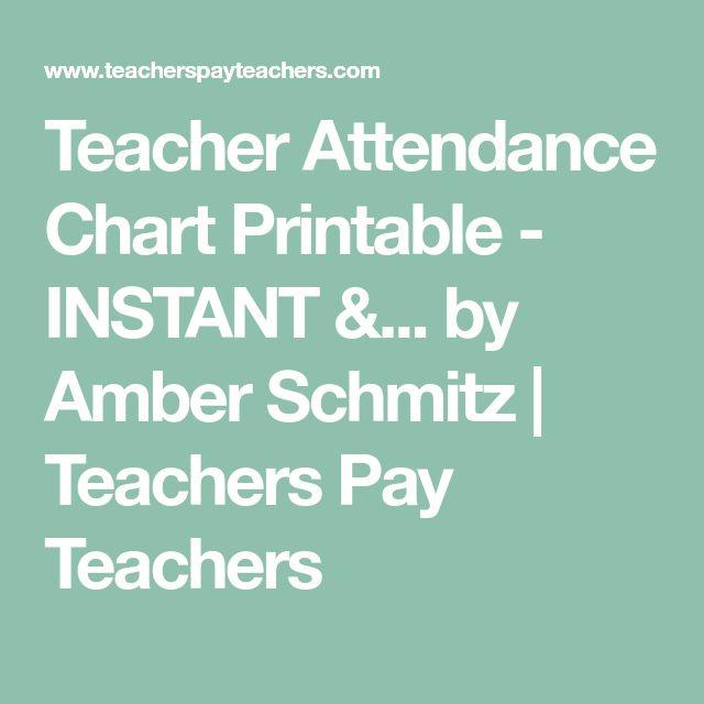 The 25+ best Attendance chart ideas on Pinterest Attendance list - downloadable attendance sheet