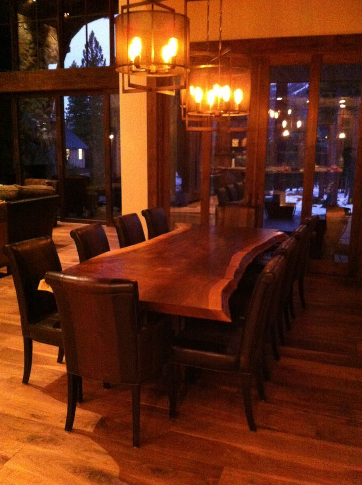 Captivating Hereu0027s One Of Our Most Recently Completed Pieces. Live Edge Claro Walnut,  Doesnu0027. Live Edge FurnitureRustic FurnitureRustic Dining TablesLake TahoeCountry  ...
