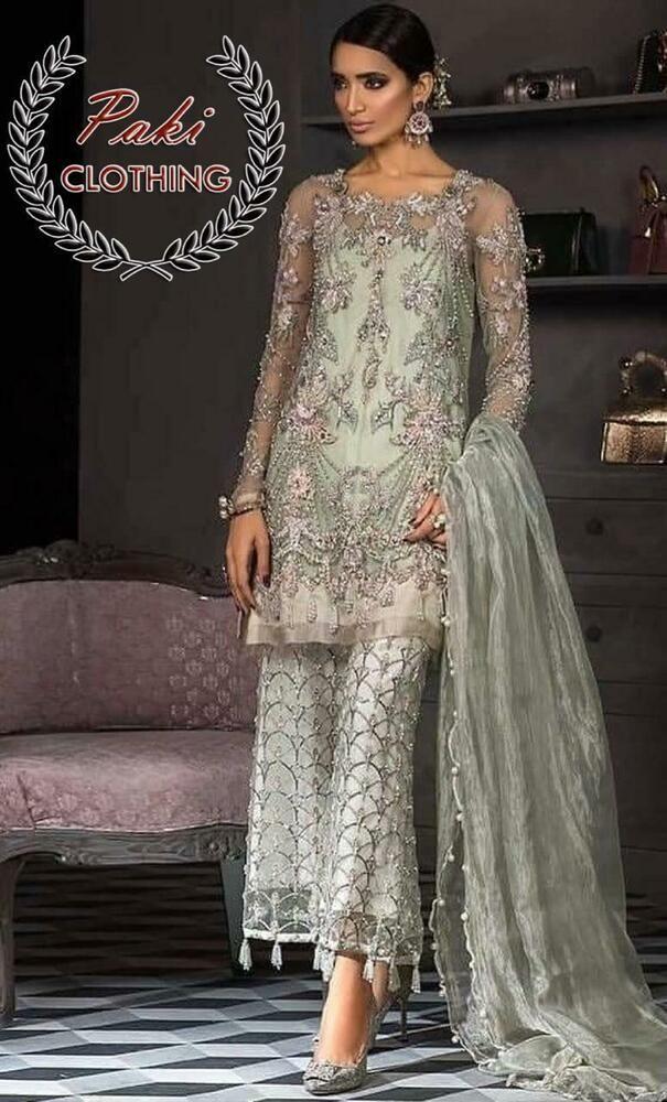 Elan Wedding Collection 2019 Latest Embroidery Pakistani Shalwar Kameez Suit