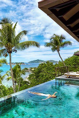 Six Senses Zil Pasyon. Luxury hotels in Seychelles.