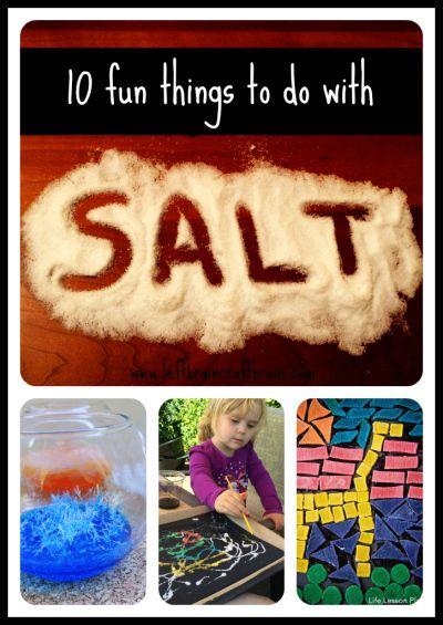 10 Fun Things To Do: 10 Fun Things To Do With Salt