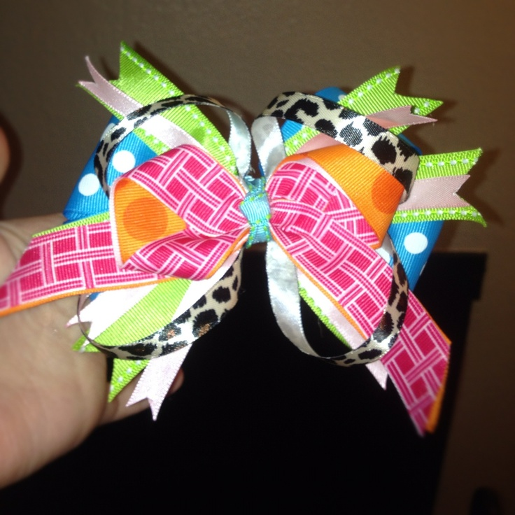 A stackable bow