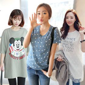 Gmarket - Click n Funny T-shirt collection / loose fit / round n...