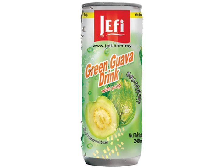 #Guave drank met #vruchtvlees #Jefi staat bekend om zijn uiterst populaire tropische sappen die voorzien zijn van een fris exotisch aroma en een buitengewone sappigheid. Jefi sappen zijn zeer rijk aan vitaminen, hebben een pure sapsmaak en bevatten geen conserveringsmiddelen. Guave is een exotische peerachtige vrucht die zeer veel voorkomt in tropische landen en erg geliefd is. #AsianFoodLovers