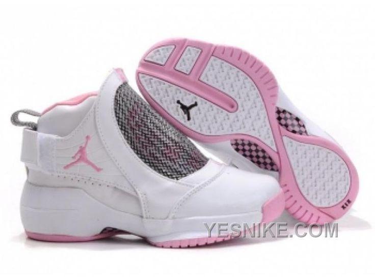 Air Jordan 19 Pour Femme Blanc/Rose YJPGh