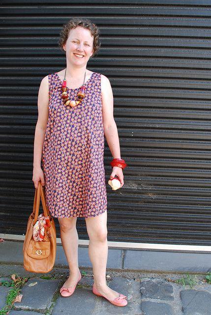 Eucalypt woven tank dress by Anna