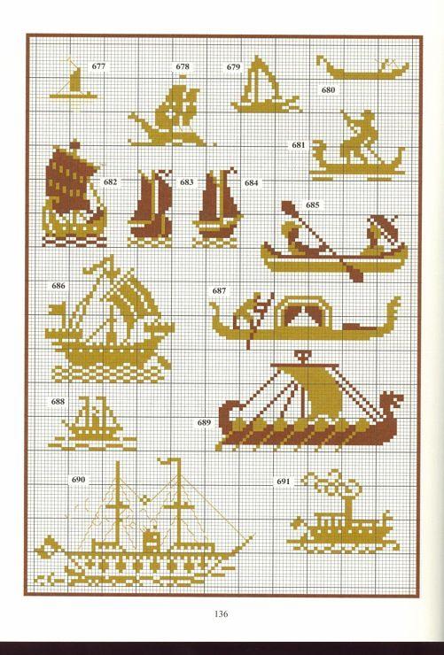 Nautical pattern 2 free