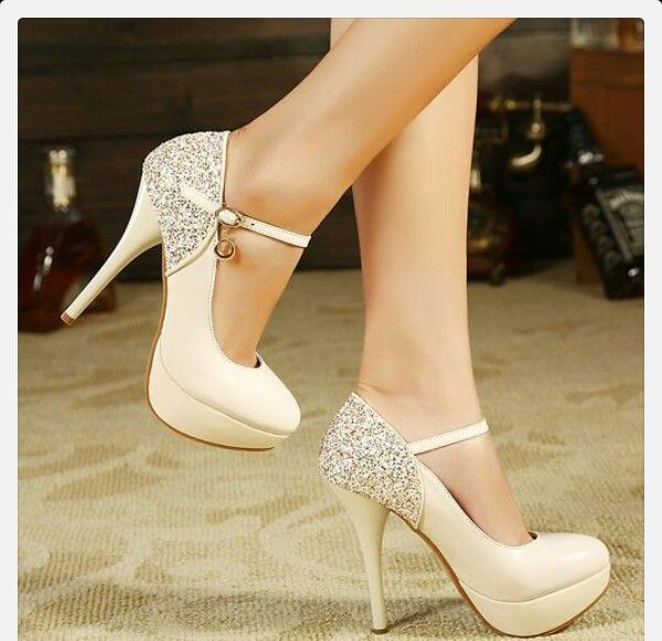 Womens Shiny Glitter High Heel Stiletto Platform Pumps Party Wedding Shoes