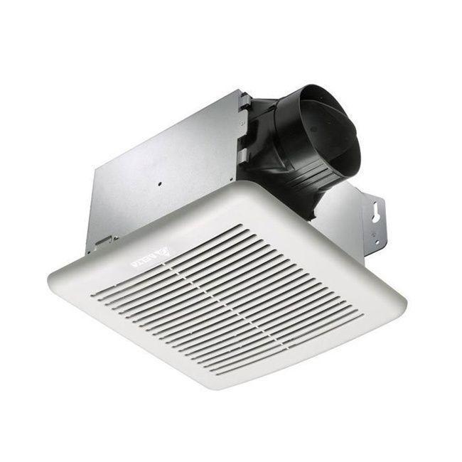 Delta Electronics BreezeGreenBuilder 80 CFM Bathroom Fan with Adjustable Humidity Sensor