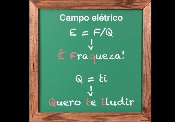 FÍSICA (Campo elétrico): Duas dicas para não desligar na hora de calcular a intensidade do CAMPO ELÉTRICO (E = F/Q) e a intensidade da CORRENTE ELÉTRICA (Q = ti)