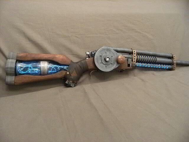 Custom paintball gun... hmmm. How can I do this to one of mine?