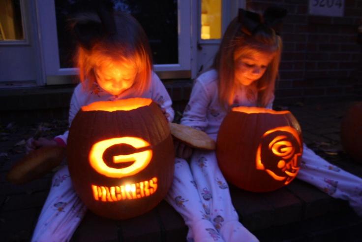 GB Packer pumpkins
