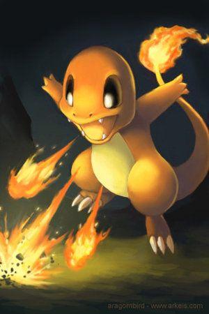 Attack Charmader.....aww cute little fire lizard!