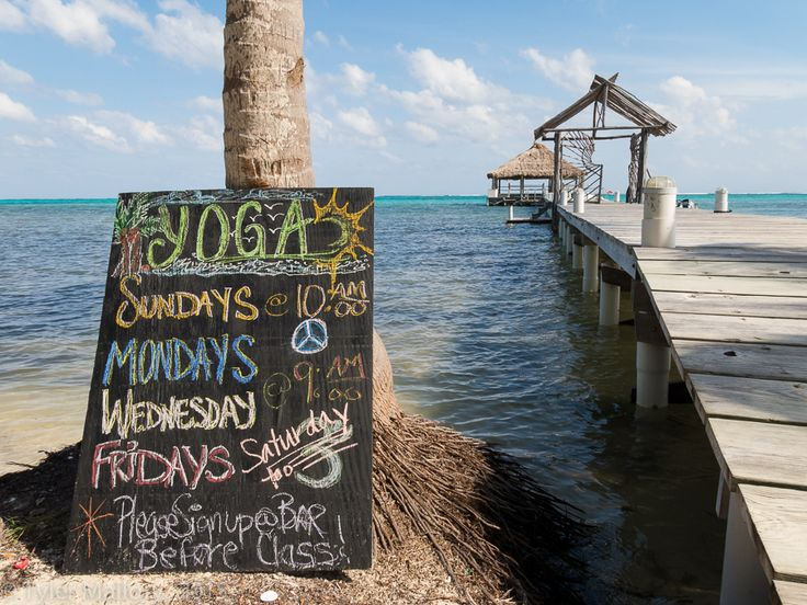 BAREFOOT IN AMBERGRIS CAYE, BELIZE