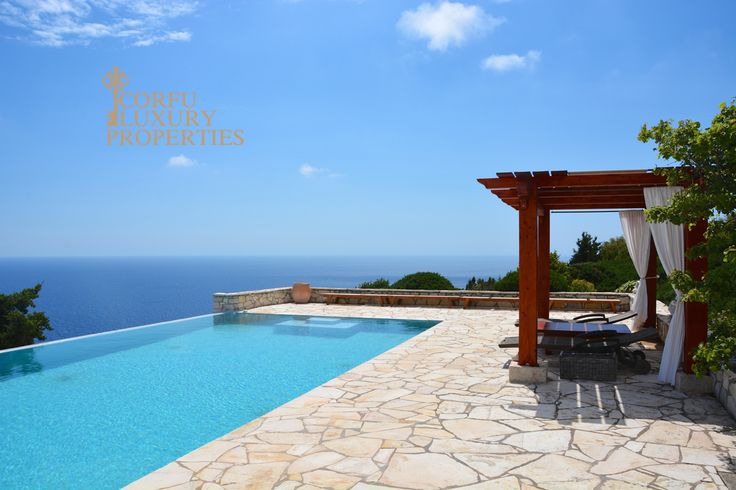 Luxury villa for sale in Paxos with spectacular sea views From: corfuluxuryproperties.com/property/luxury-villa-for-sale-in-paxos-with-spectacular-sea-views