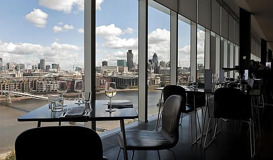 Tate Modern Restaurant, London, UK